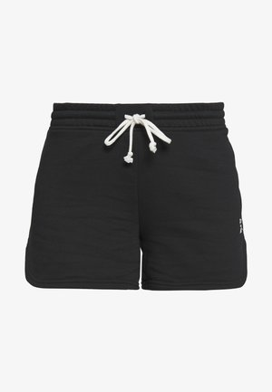 FRENCH TERRY ELEMENTS SPORT SHORTS - Sports shorts - black