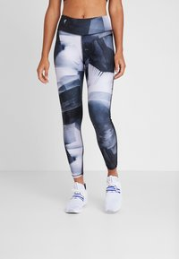 Reebok - ESSENTIALS RUNNING RECYCLED LEGGINGS - Medias - black - 0