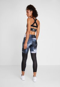 Reebok - ESSENTIALS RUNNING RECYCLED LEGGINGS - Medias - black - 2