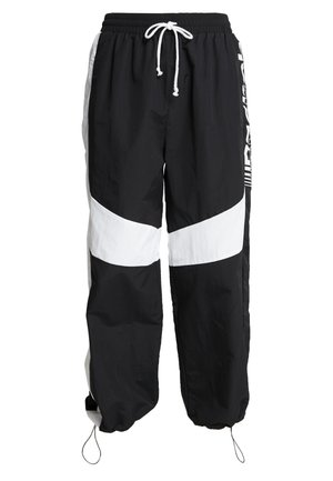 WIDE LEG PANT - Tracksuit bottoms - black