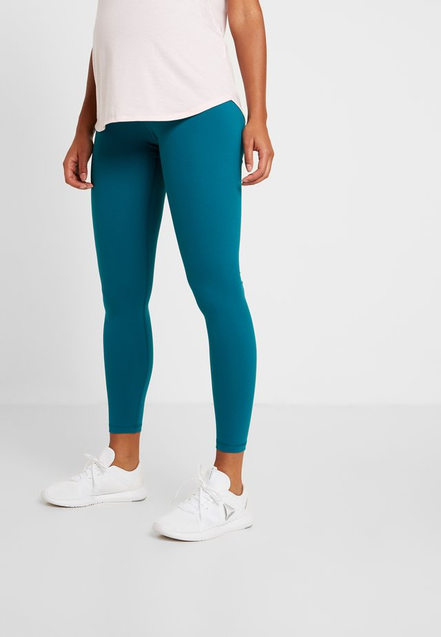 Y LUX 2.0MATERNITY TIGHT - Tights - blue