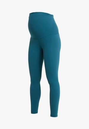LUX MATERNITY - Tights - blue