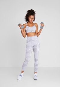 Reebok - LUX HIGHRISE TIGHT 2.0 - Leggings - grey - 1
