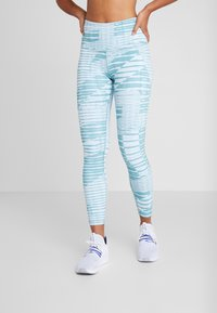 Reebok - LUX HIGHRISE TIGHT 2.0 - Tights - green - 0