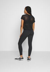 Reebok - LUX HIGHRISE - Tights - black - 2