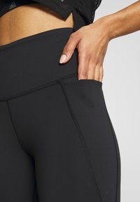 Reebok - LUX HIGHRISE - Tights - black - 4