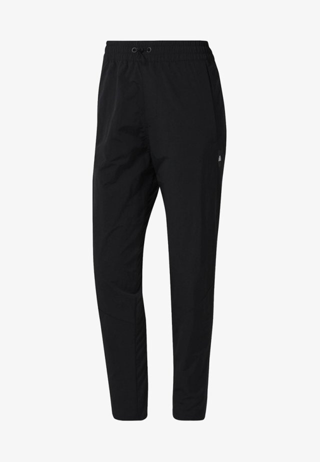 TRAINING SUPPLY WOVEN PANTS - Broek - black
