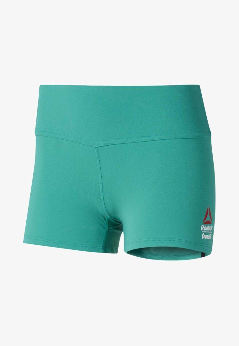 Reebok - REEBOK CHASE BOOTIE SHORTS - kurze Sporthose - green