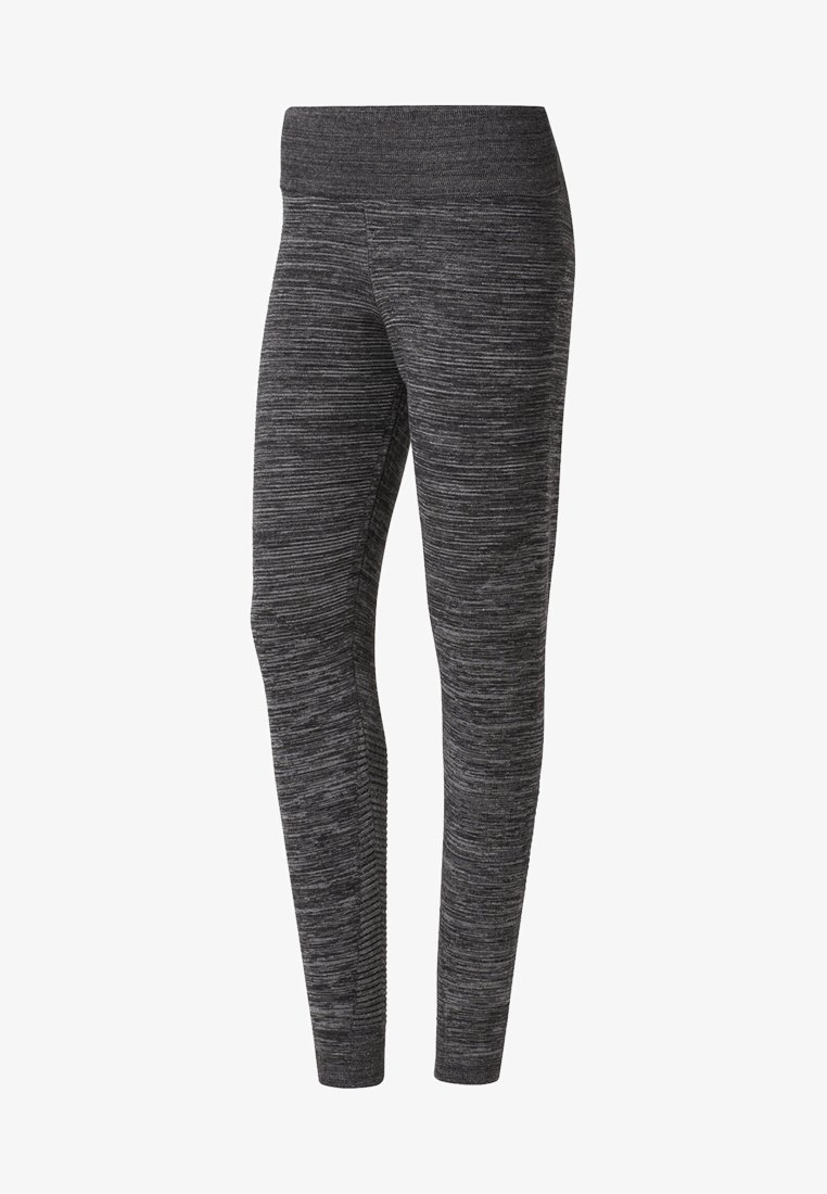 Reebok - KNIT FITTED PANTS - Tights - grey