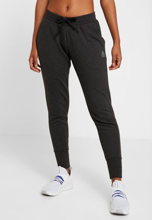 LIGHTWEIGHT JOGGER - Tracksuit bottoms - black melange