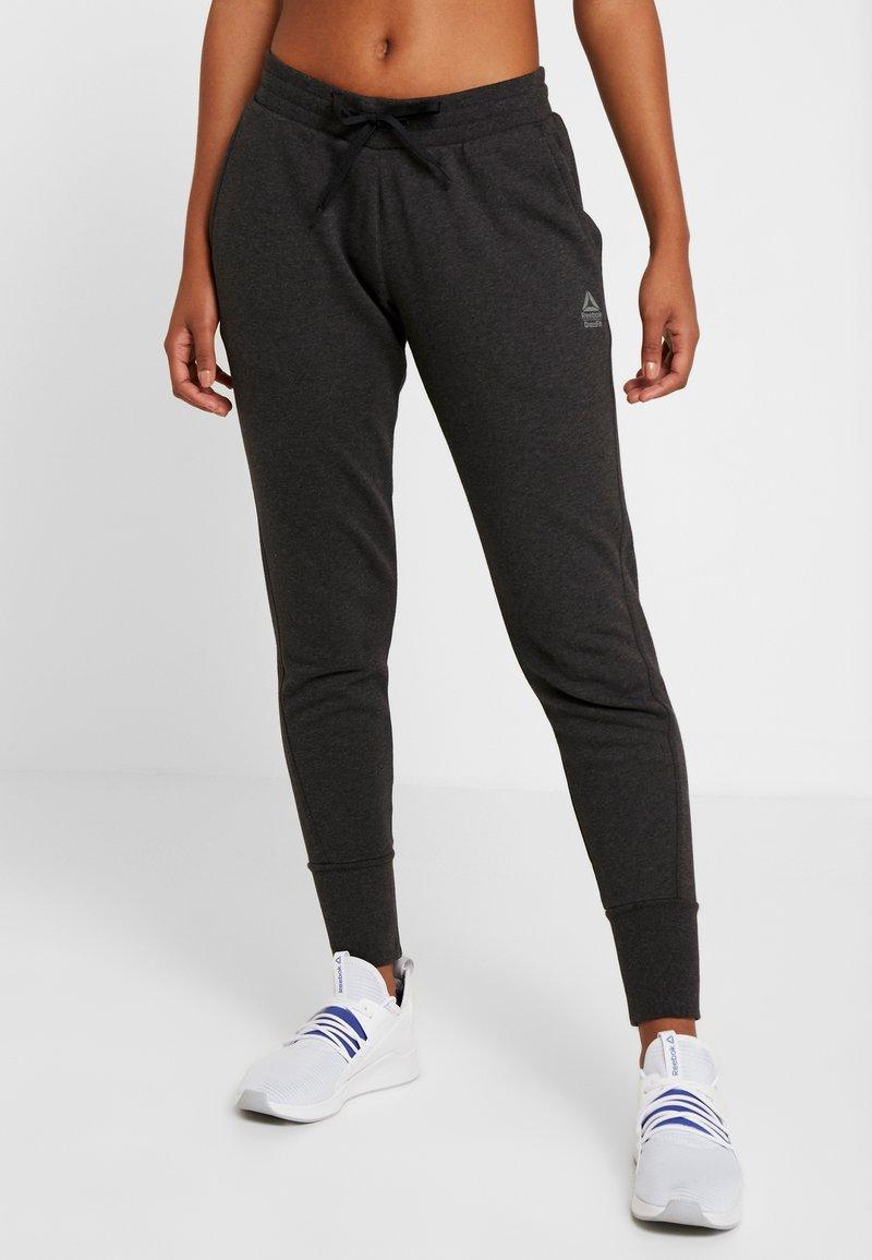 Reebok - LIGHTWEIGHT JOGGER - Pantalon de survêtement - black melange
