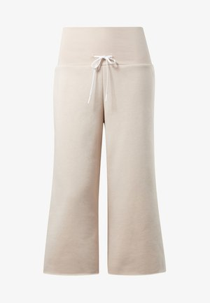 STUDIO WIDE LEG PANTS - Pantaloni - buff