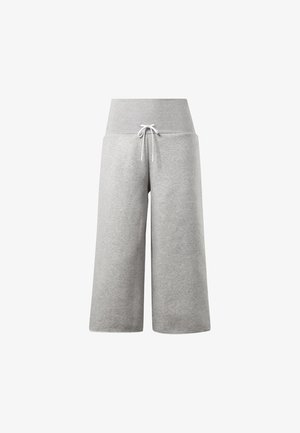 STUDIO WIDE LEG PANTS - Bukser - medium grey heather