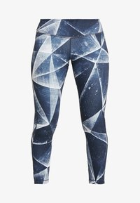 Reebok - LUX BOLD ICE - Leggings - heritage navy - 4