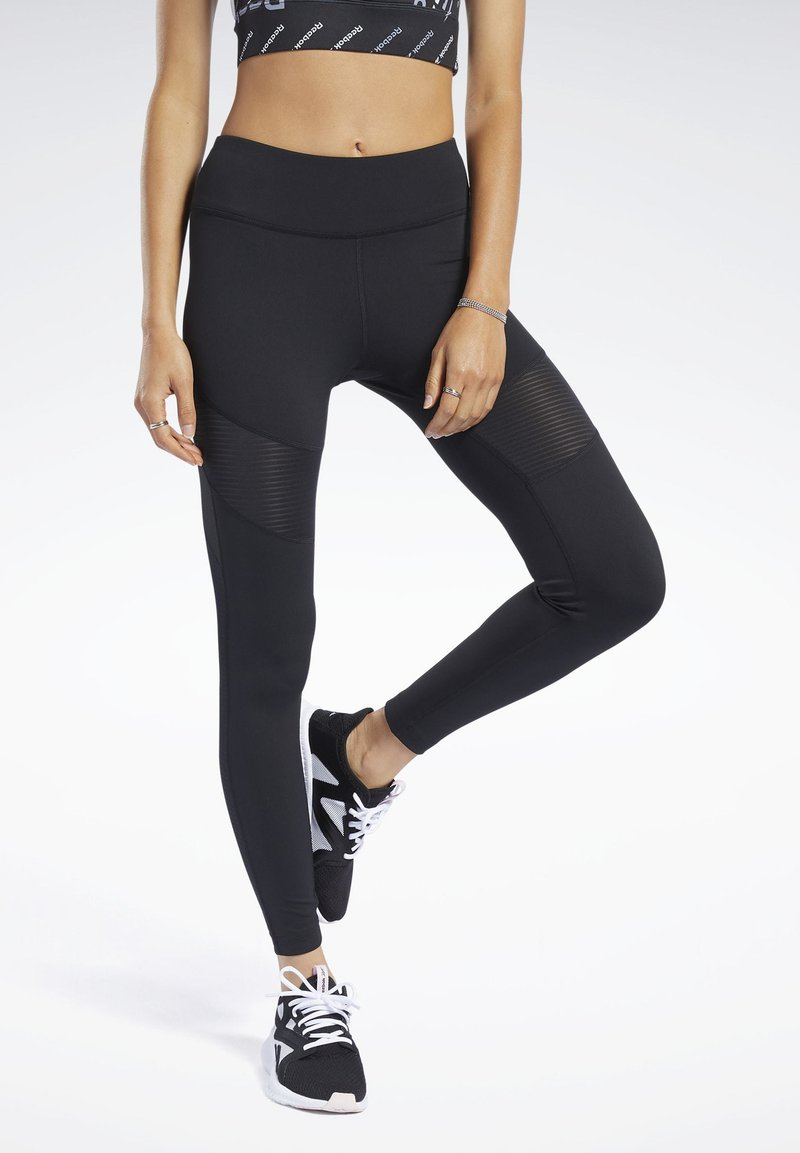 Reebok - WORKOUT READY  - Tights - black