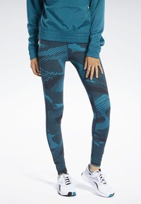 Reebok - Tights - seaport teal - 0