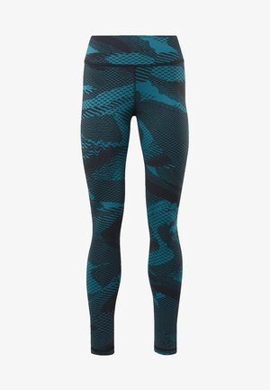 Tights - seaport teal