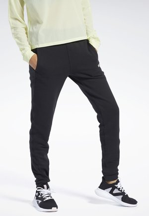 QUIK COTTON PANTS - Pantaloni sportivi - black