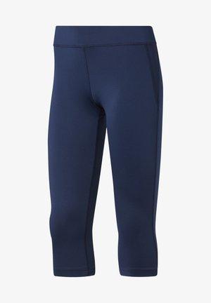 WORKOUT READY CAPRI TIGHTS - 3/4 Sporthose - blue