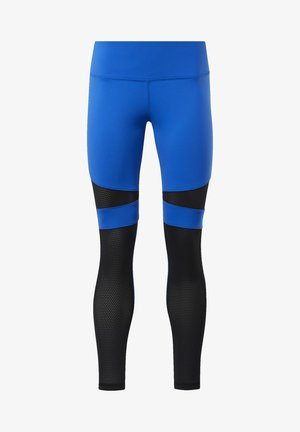REEBOK LUX COLORBLOCK TIGHTS - Collants - humble blue