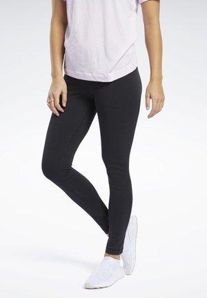 TRAINING ESSENTIALS COTTON LEGGINGS - Legging - black