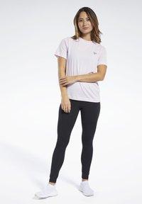 Reebok - TRAINING ESSENTIALS COTTON LEGGINGS - Legging - black - 1