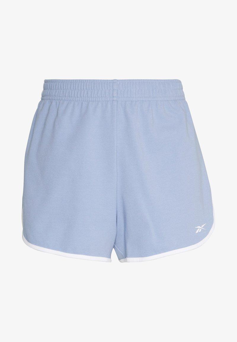 Reebok - SLIT SHORT - Pantalón corto de deporte - grey