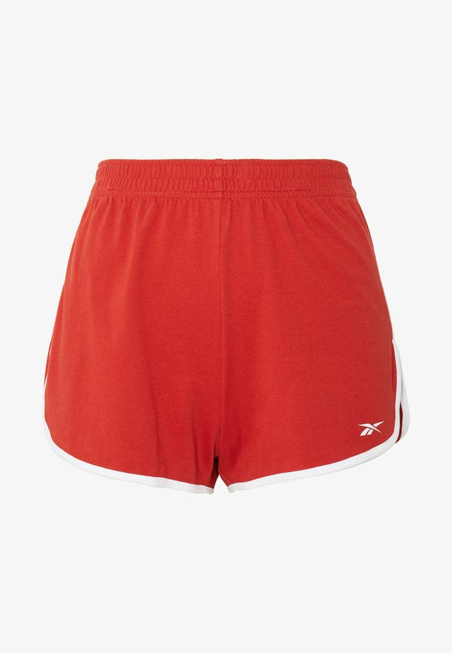 SLIT SHORT - Urheilushortsit - legacy red