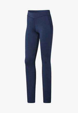 WORKOUT READY BOOT CUT PANTS - Leggings - Trousers - blue