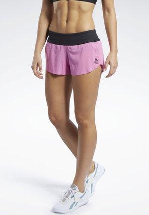 REEBOK KNIT WOVEN SHORTS - Sports shorts - posh pink