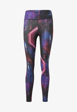 ONE SERIES RUNNING TIGHTS - Tights - posh pink