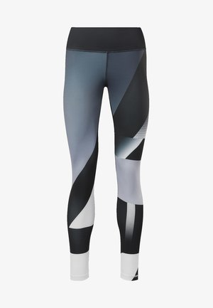 REEBOK  LUX TIGHTS - Tights - sterling grey