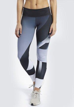 REEBOK  LUX TIGHTS - Leggings - sterling grey