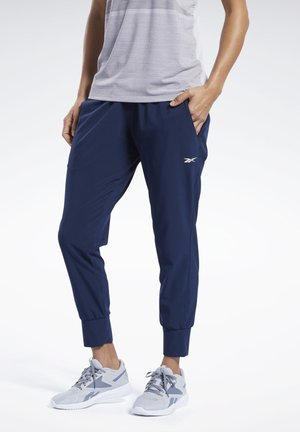 UNITED BY FITNESS DOUBLEKNIT JOGGERS - Tracksuit bottoms - blue
