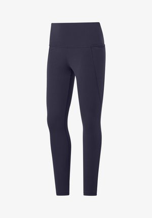 REEBOK LUX HIGH-RISE TIGHTS 2.0 - Tights - purple