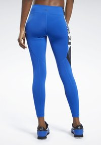 Reebok - MEET YOU THERE TIGHTS - Collants - humble blue - 2
