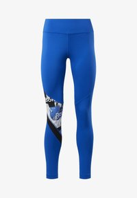 Reebok - MEET YOU THERE TIGHTS - Collants - humble blue - 6