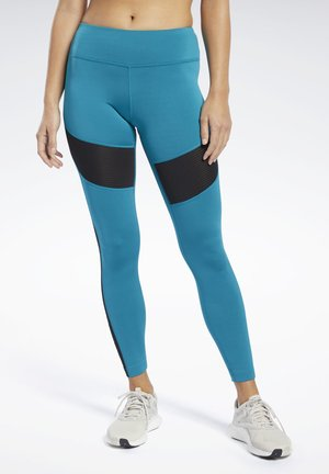 WORKOUT READY MESH TIGHTS - Legging - seaport teal