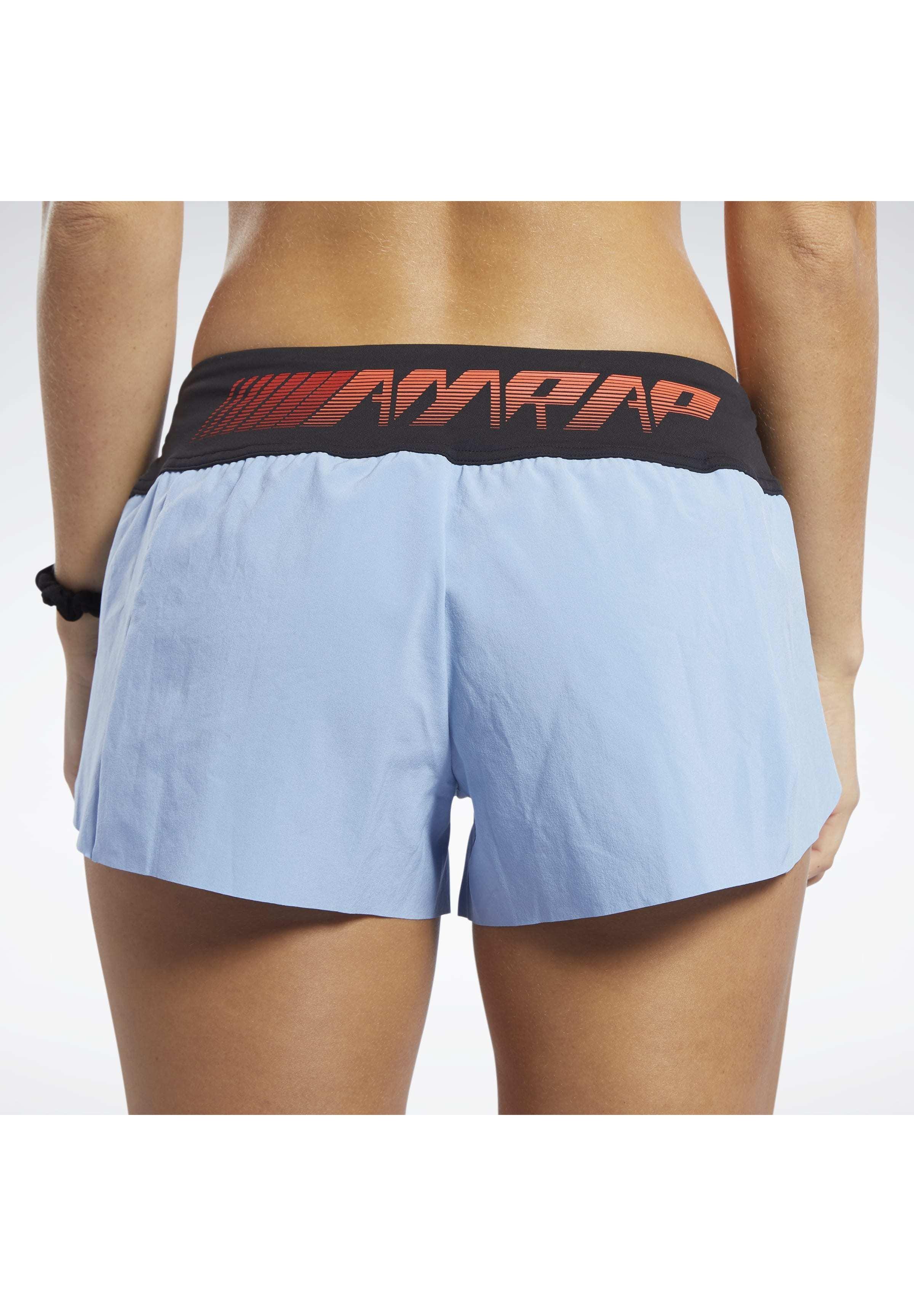 Reebok Knit Woven Shorts - Träningsshorts Blue