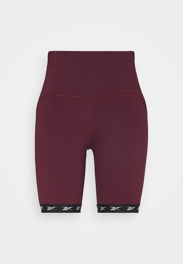 BIKE SHORT - Tights - maroon
