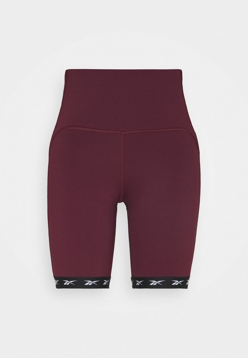 Reebok - BIKE SHORT - Legging - maroon