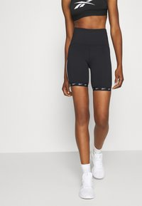Reebok - BIKE SHORT - Tights - black - 1