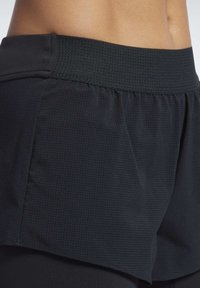 Reebok - EPIC TWO-IN-ONE SHORTS - Sports shorts - black - 4
