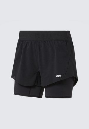 EPIC TWO-IN-ONE SHORTS - Korte broeken - black