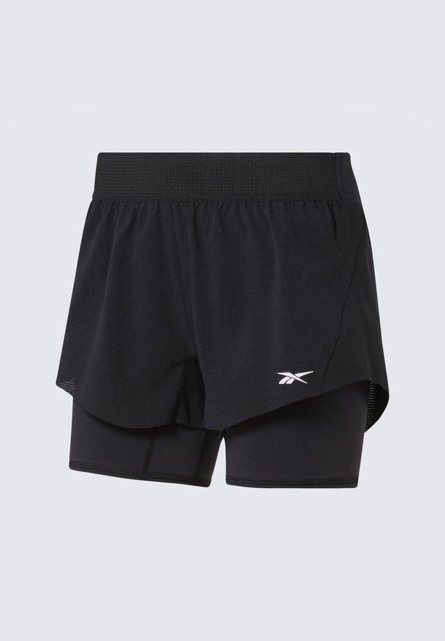 EPIC TWO-IN-ONE SHORTS - Short de sport - black