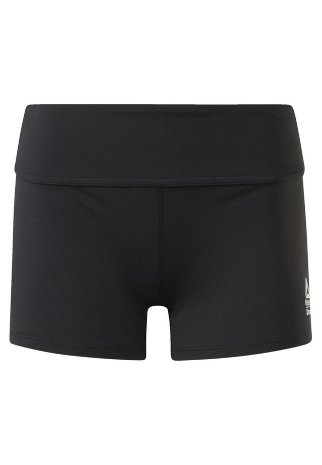 CHASE SOLID BOOTY SHORTS - kurze Sporthose - black
