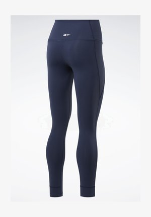 REEBOK LUX HIGH-RISE TIGHTS 2.0 - Tights - blue