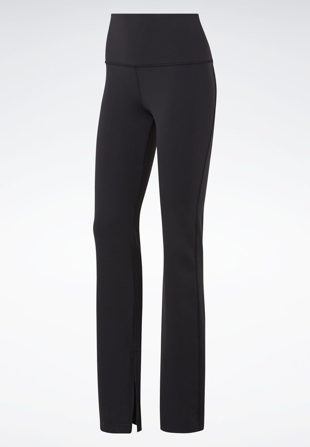 REEBOK LUX BOOTCUT TIGHTS 2.0 - Broek - black