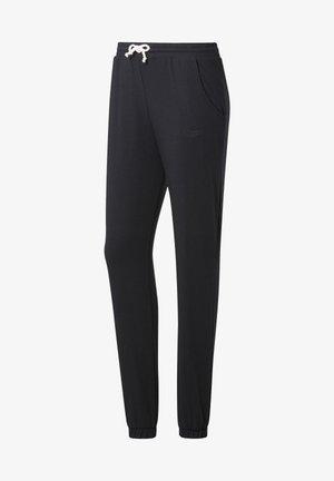 TRAINING ESSENTIALS PANTS - Pantaloni sportivi - black