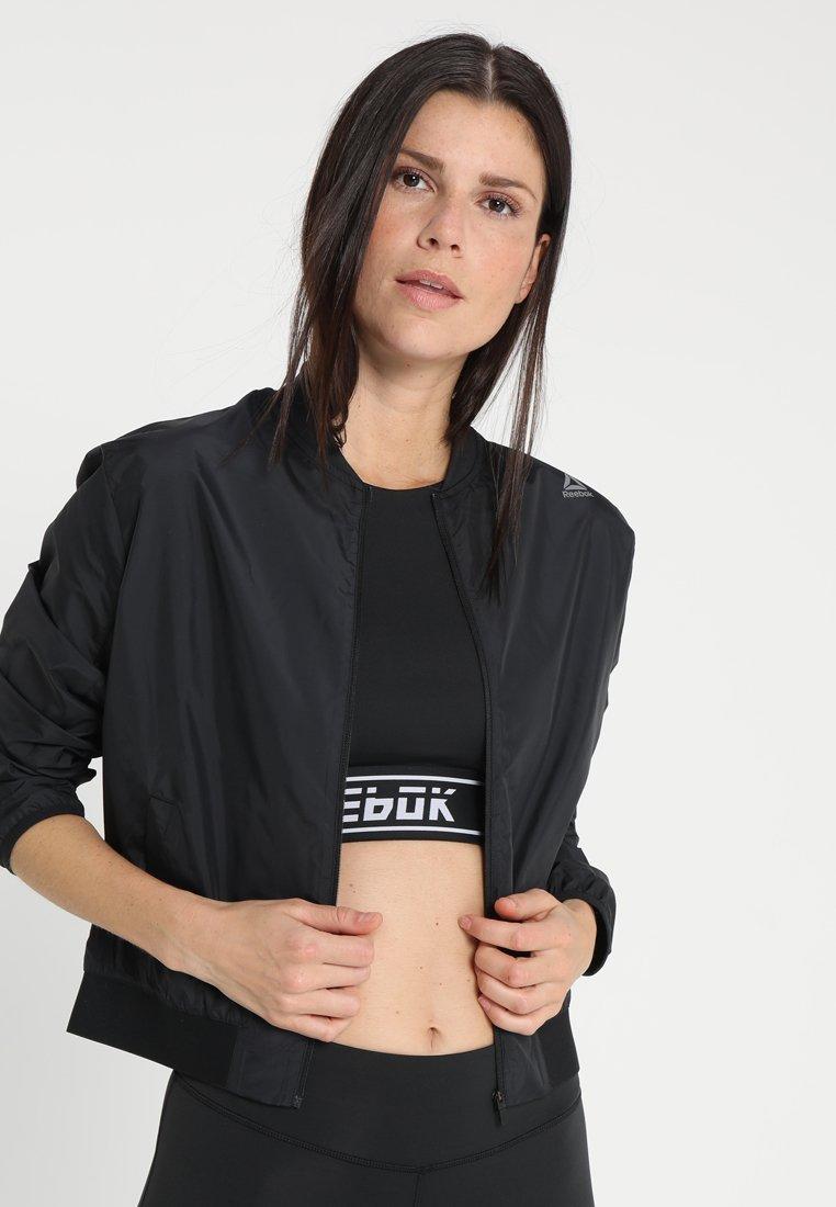 Reebok - Training jacket - black